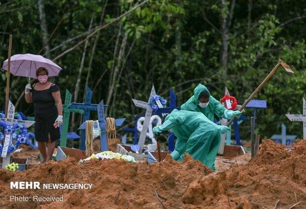 برازیل میں کورونا وائرس سے ہلاکتوں کی تعداد 50 ہزار سے زائد ہوگئی