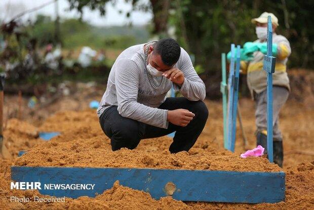 Salgın Brezilya'da can almaya devam ediyor: 1 günde 844 ölüm!