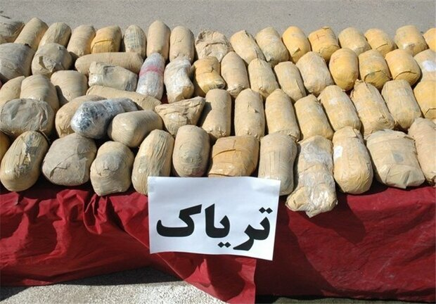 Over 420 kg of illegal drugs seized in SW Iran