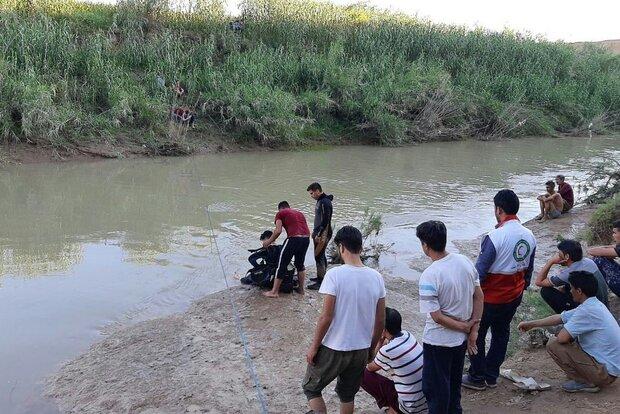رودخانه کلاله جان ۲ کودک را گرفت
