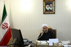 Rouhani voices Iran's full support for Iraqi govt.