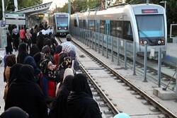جابهجایی بیش از ۵۱ میلیون نفر از طریق خطوط قطارشهری در سال ۹۸