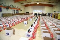 زنجان میں 24 ہزار غذائی پیکیجز کی تقسیم