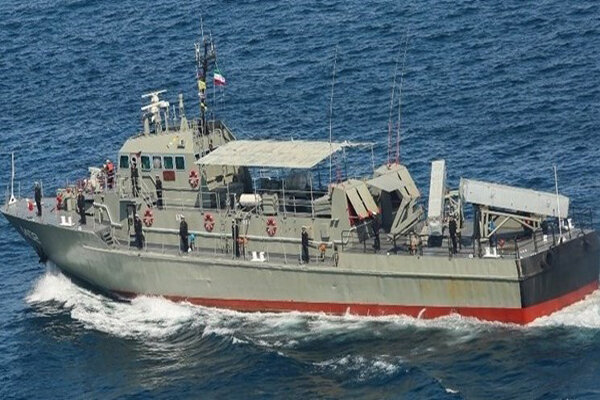 Accident occurs for Iran's Navy vessel in territorial waters