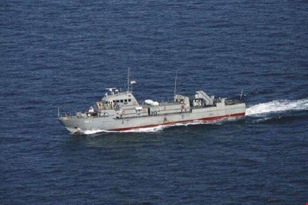 Umman Denizi'nde meydana gelen kazadan ilk görüntüler