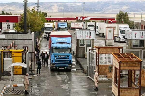 فعالیت تجاری ۲۴ ساعته مرز بازرگان با ترکیه از سرگرفته شد