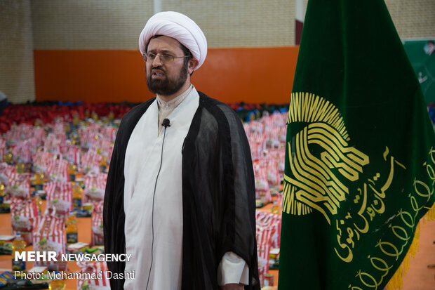 Astan Quds stages 'Equality and Sincere Assistance Maneuver'