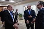ماس و لودریان بر همکاری با آمریکا در برابر ایران تاکید کردند