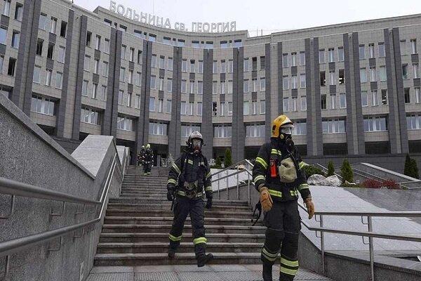 روس میں کورونا وائرس کے مخصوص اسپتال میں آگ لگنے سے 5 افراد ہلاک