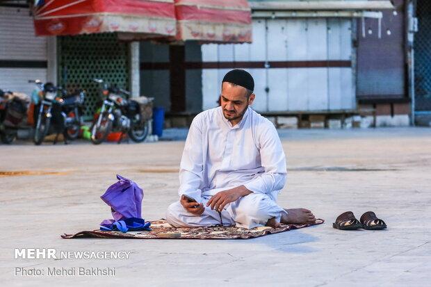 Fast-breaking moments at Hazrat Masoumeh holy shrine in Qom