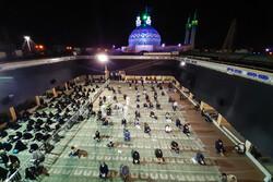 یزد میں انیسويں رمضان المبارک کی مناسبت سے معنوی تقریب منعقد