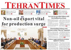 Front pages of Iran international dailies on May 13