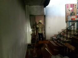 آتش سوزی در خیابان وزرا/ حادثه خسارات مالی زیادی داشت
