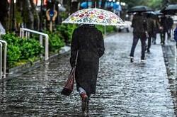 تقویت بارشها در برخی استانهای کشور