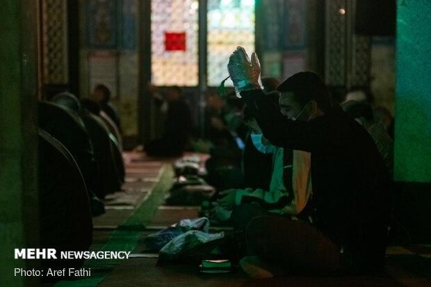 مراسم شب نوزدهم ماه مبارک رمضان در امامزاده اسماعیل(ع) شهریار