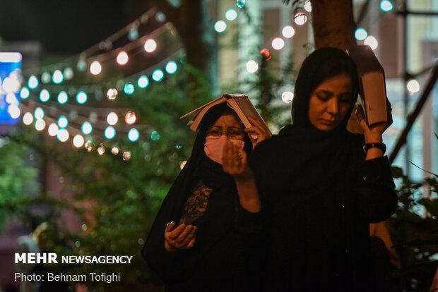 مراسم شب نوزدهم ماه مبارک رمضان در مهدیه تهران