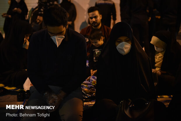 Laylat al-Qadr night observed in Tehran