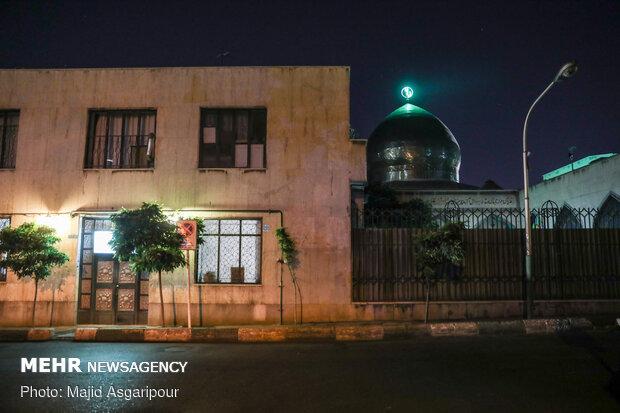 روشن شدن چراغ مساجد در شبهای قدر