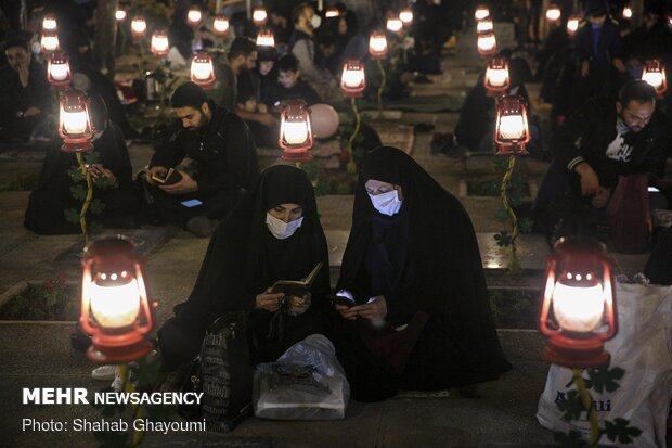 مراسم شب نوزدهم ماه مبارک رمضان دربهشت زهرا (سلام الله علیها)