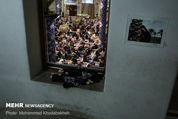 مراسم شب نوزدهم ماه مبارک رمضان در مسجد ارگ تهران