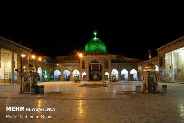 مراسم احیای شب نوزدهم ماه مبارک رمضان در حرم حضرت عبدالعظیم(ع)