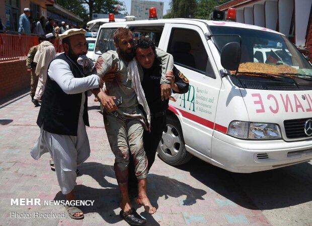 کابل میں پولیس کی گاڑی پر ہونے والے بم دھماکے میں ایک شخص ہلاک