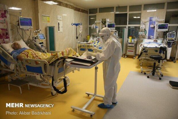 ۴۵۰ مبتلا به کرونا در بیمارستانهای کرمانشاه بستری هستند