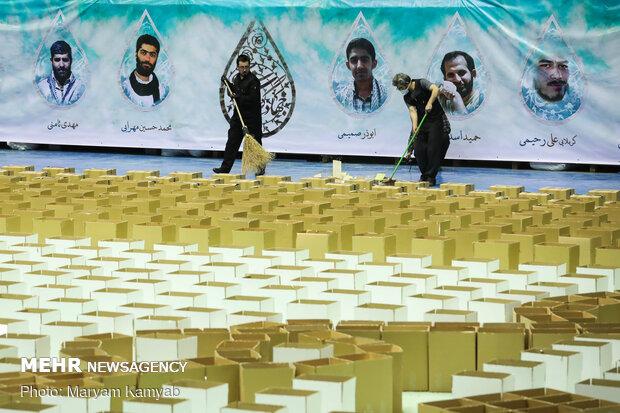 آماده سازی ۲۰ هزار بسته معیشتی جهت ارسال به استان های محروم