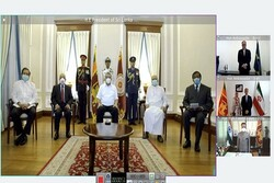 Iran's new envoy submits credentials to Sri Lankan President