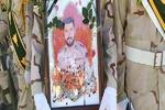 پیکر مطهر شهید مدافع امنیت «حمید فعلهگری » در قرچک تشییع شد