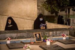 تہران یونیورسٹی میں رمضان کی اکیسویں شب میں عبادت اور بندگی