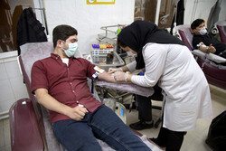 Blood donation on Laylat al- Qadr in Qom prov.