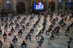 قزوین میں رمضان کی اکیسویں شب میں عبادت اور بندگی