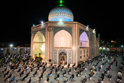 Night of Qadr observed in Qazvin prov.