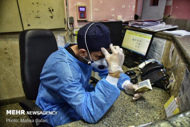 احیای شب بیست و یکم ماه مبارک رمضان در بیمارستان پنجم آذر گرگان