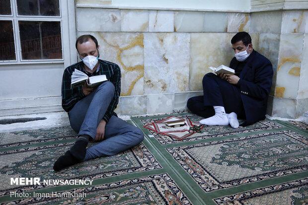 احیای شب بیست و یکم ماه مبارک رمضان در همدان
