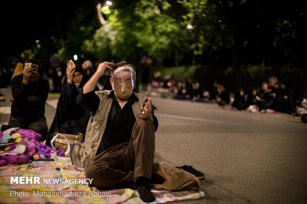 احیای شب بیست و یکم ماه مبارک رمضان در  دانشگاه تهران