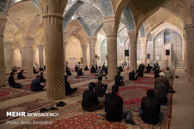 Night of Decree observed in Shiraz under health protocols