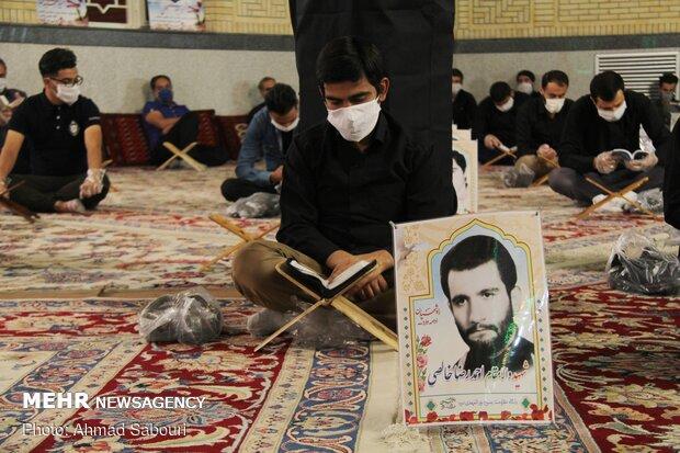 سمنان میں حضرت علی (ع) کی شہادت اور شب قدر کی مناسبت سے عزاداری اور دعا و مناجات
