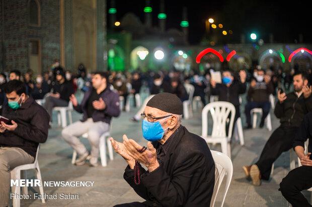 احیای شب بیست و یکم ماه مبارک رمضان در قزوین