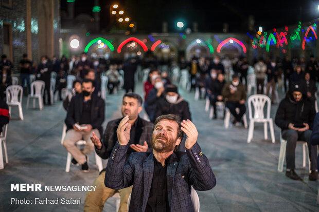 Night of Qadr observed in Qazvin prov.