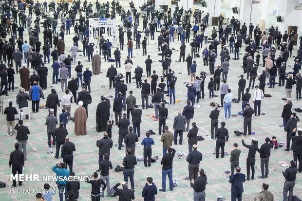 احیای شب قدر در مصلی تبریز