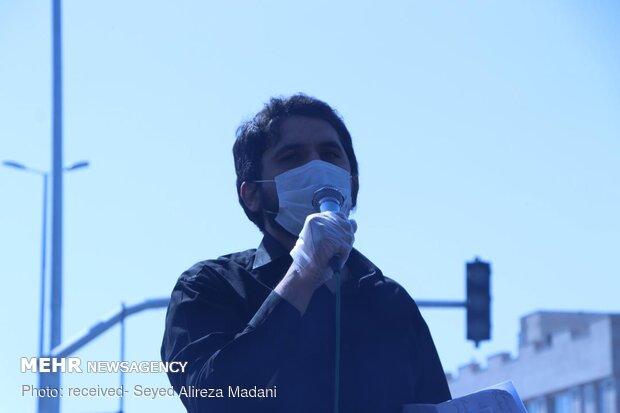 تشیع شهید مدافع حرم «ابوالفضل سرلک» در شهر ری