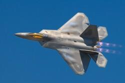 یک جنگنده اف-۲۲ آمریکا سقوط کرد