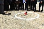 کلنگزنی ۵۰ واحد مسکونی بسیجیان معسر در زنجان