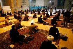 مراسم احیا شب بیست و سوم ماه رمضان در لامرد برگزار شد
