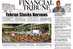 Front pages of Iran international dailies on May 17