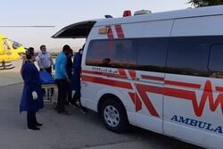 عملیات اورژانس هوایی در البرز/ نجات کشاورز ۶۴ ساله
