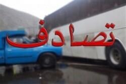 ۲ کشته و ۲۵ مصدوم در حادثه واژگونی اتوبوس
