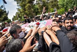 تہران میں شہید اصغر پاشاپور کو گلزار شہداء میں سپرد خاک کردیا گیا